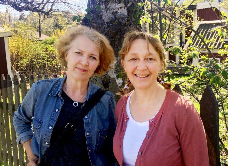 Anna Lind Lewin och Lotta Fabricius Kristiansen